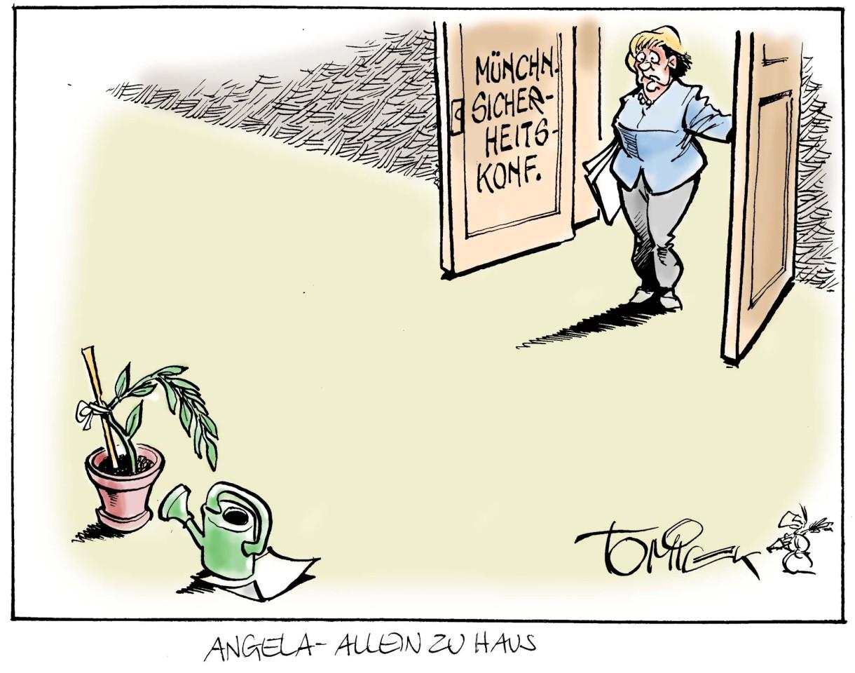 Angela – allein zu Haus