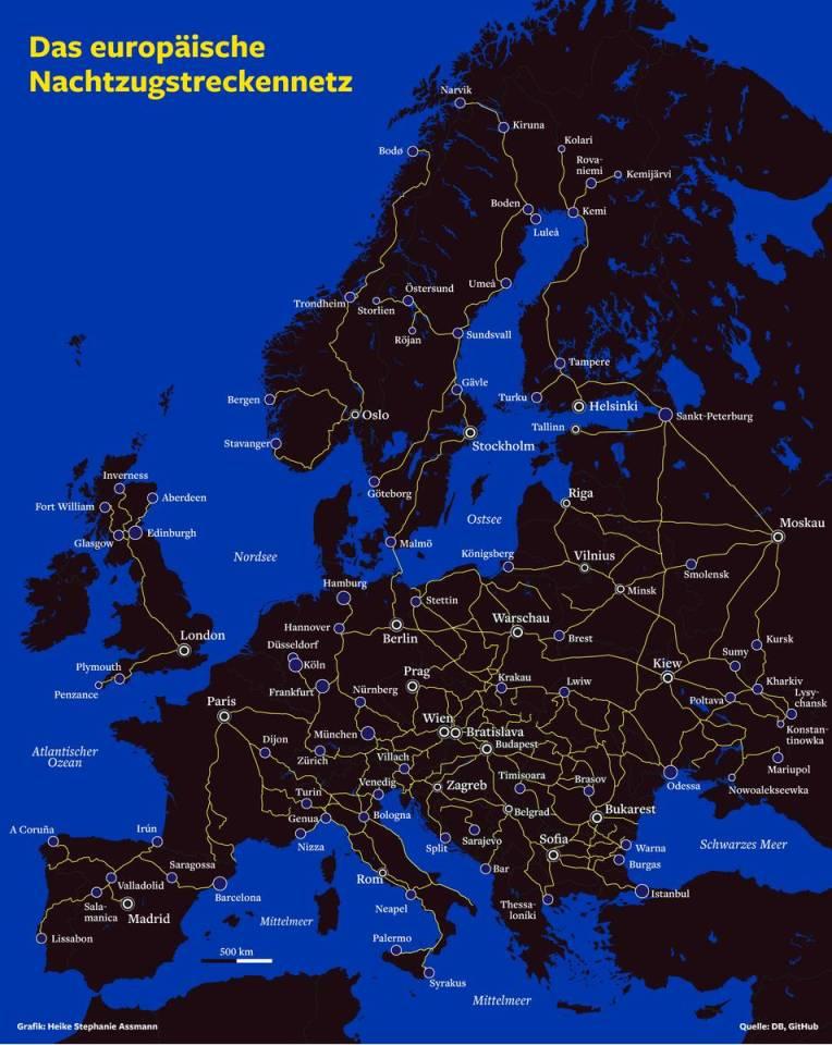 Nachtzug Durch Europa Comeback Im Zeiten Des Klimaschutzes