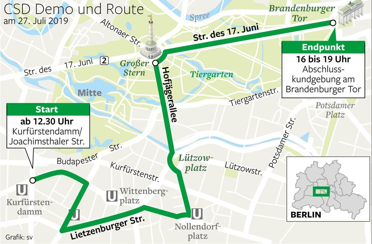 Berlin gay map