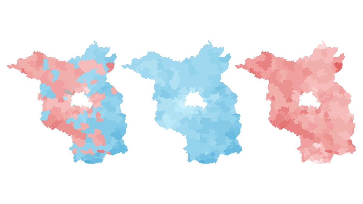 Gewinner, Verlierer, Hochburgen in Brandenburg: Die Ergebnisse aller Parteien und allen Gemeinden auf der interaktiven Wahlkarte.
