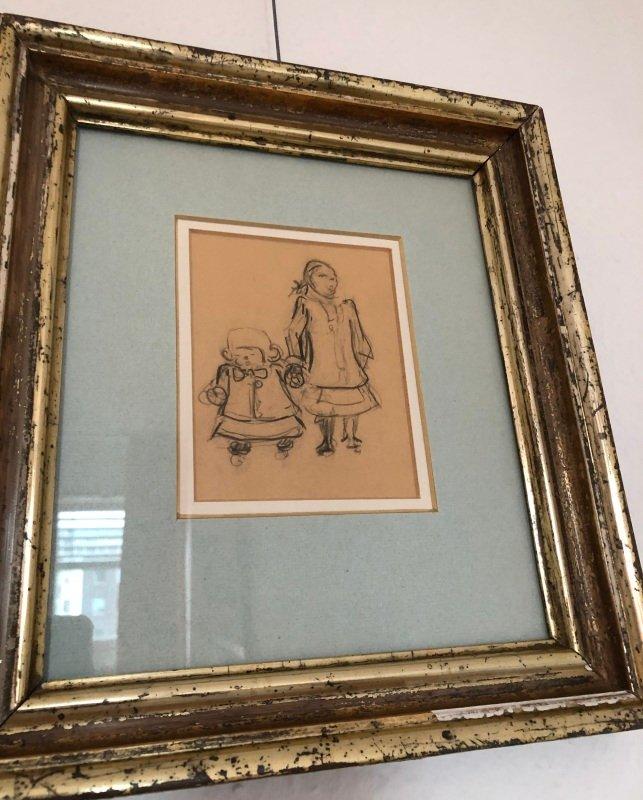 Diese Zeichnung von Heinrich Zille wurde entwendet.