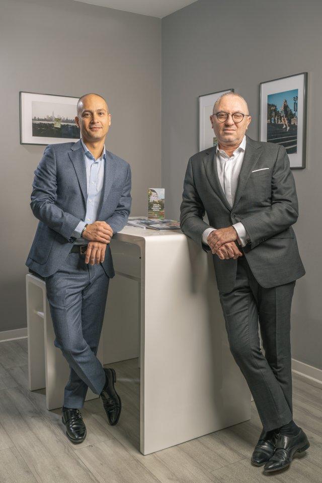 In der Branche bestens vernetzt – John Amram (links) und Dr. Ilja Gop (rechts).