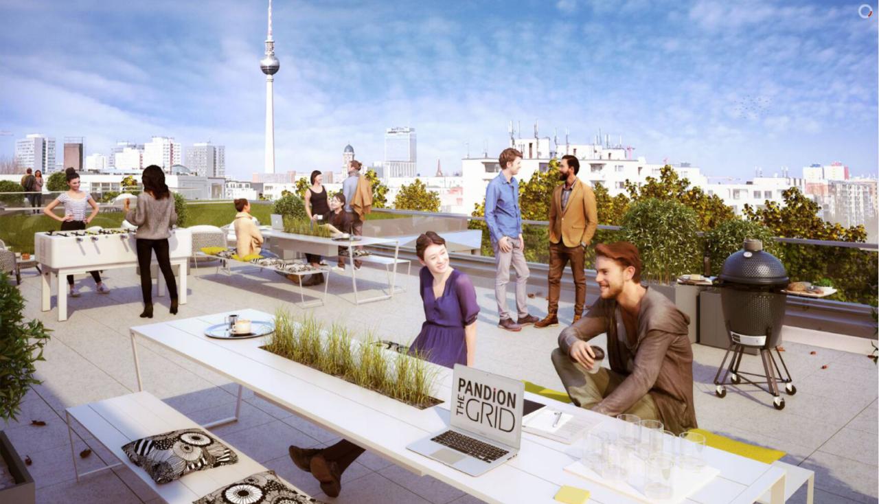 Berliner Zukunft: PANDION THE GRID