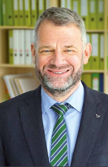 Dr. Andreas Eckhoff, Vorstandsvorsitzender des EJF.