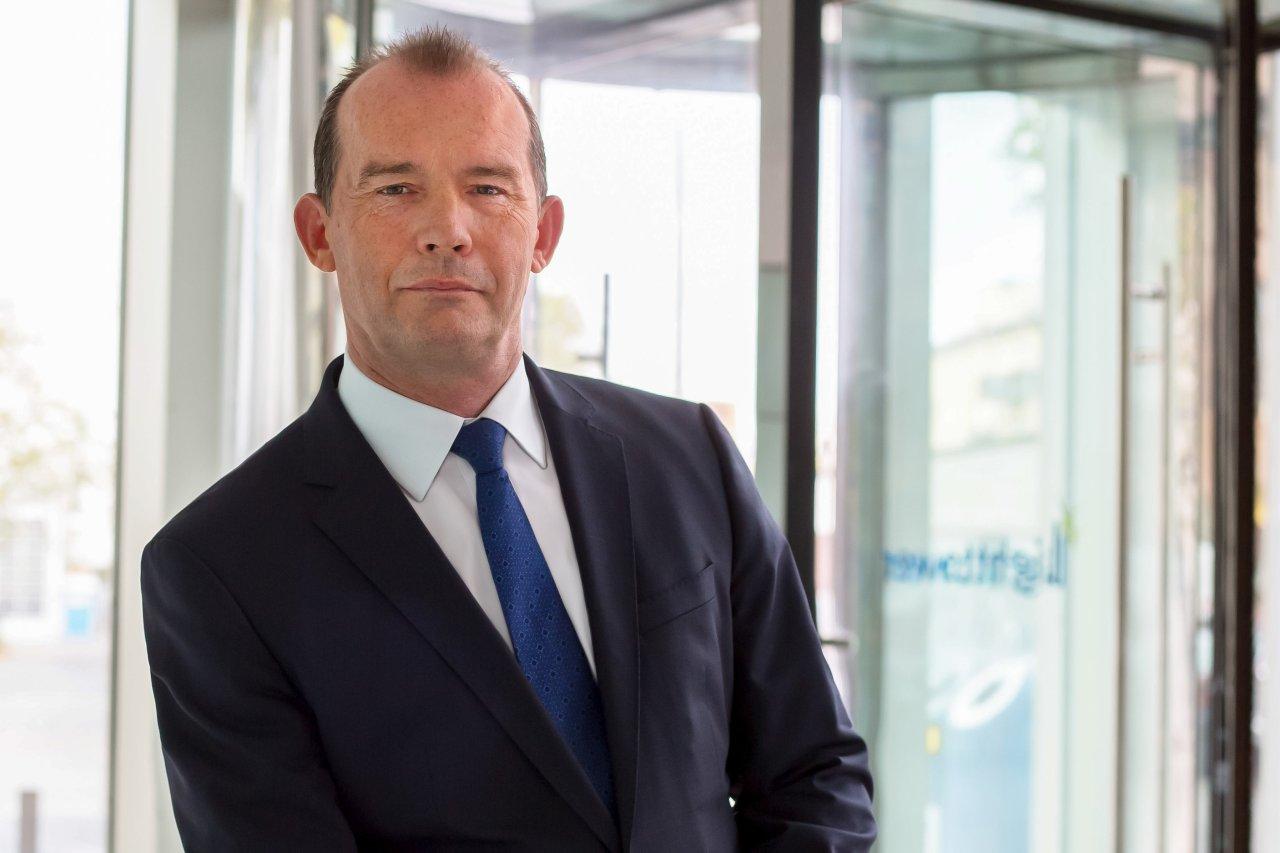 Ditmar Rompf, Vorstandsvorsitzender der Hüttig & Rompf AG.