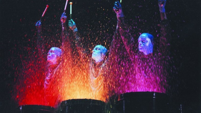 die show der blue man group in berlin
