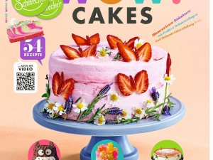 "132 Seiten Backrezepte: ""Leckerschmecker Wow!-Cakes"" aus dem Hause ""EAT CLUB""."