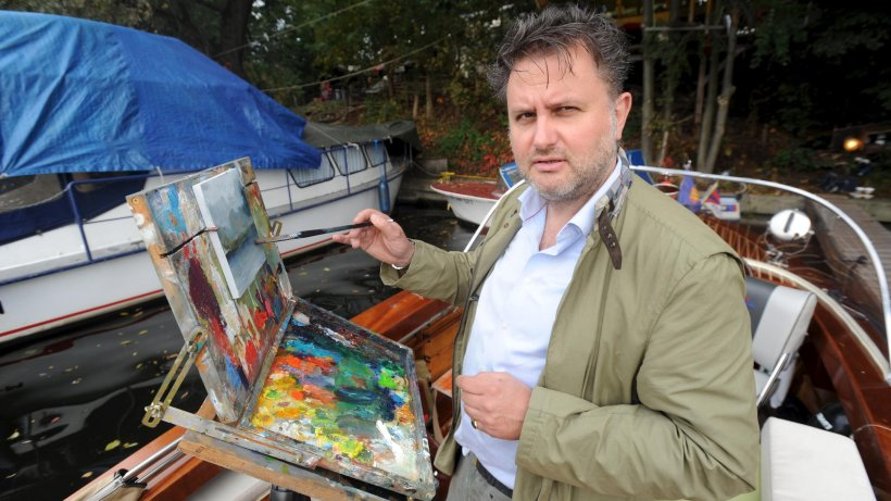 edward b  gordon malt und verkauft jeden tag ein bild