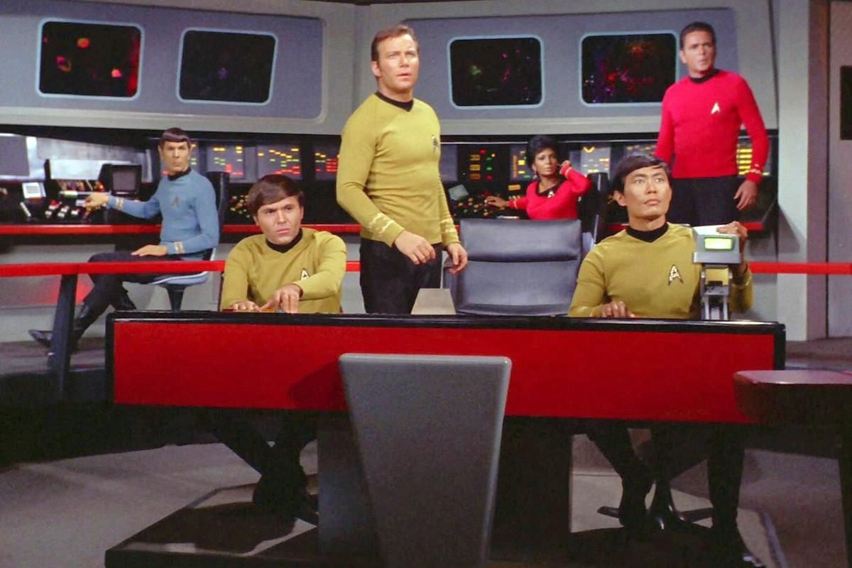 Unendliche Weiten: Die Führungscrew der USS Enterprise