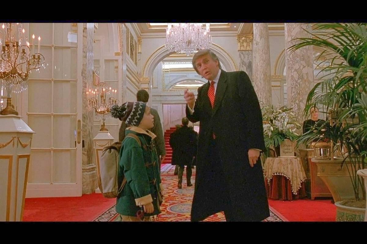 Trump Bei Kevin Allein In New York