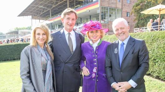 Kimberly Emerson, Gerhard Schöningh, Tini Rothkirch und Keith Brackpod (v.l.)