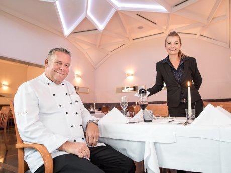 """Zu Gast im """"Balthazar 2"""" bei Küchenchef Holger Zurbrüggen und Restaurantleiterin Marie Jung"""