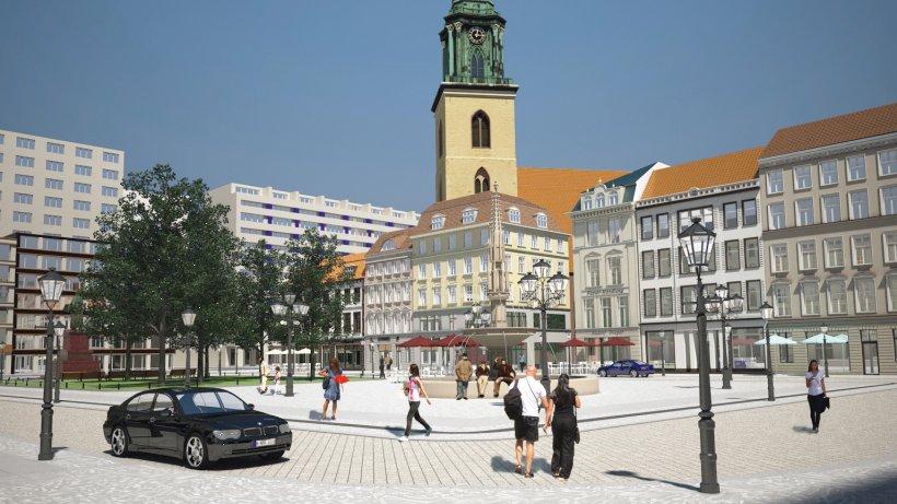 neuer markt soll nach historischem vorbild entstehen mitte berliner morgenpost. Black Bedroom Furniture Sets. Home Design Ideas