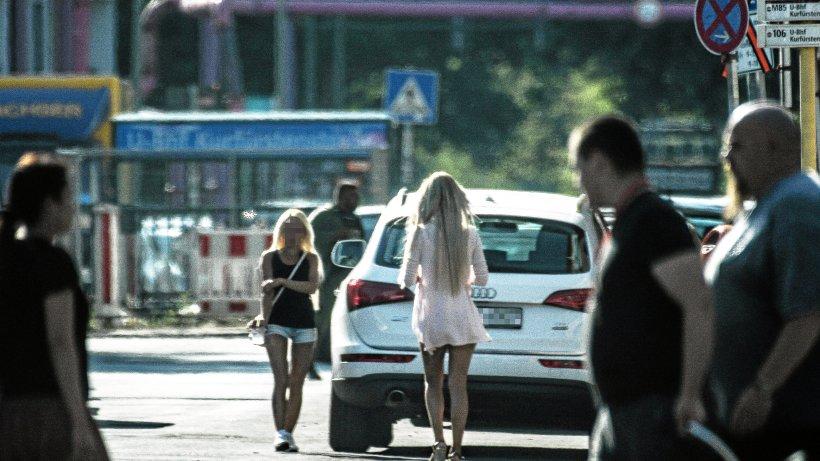 Straßenstrich in der Kurfürstenstraße: Berlins Ort für