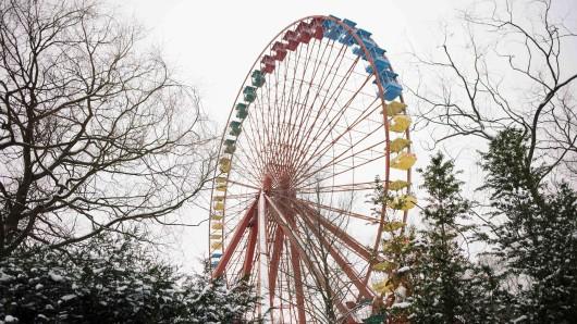 Das alte Riesenrad im Spreepark