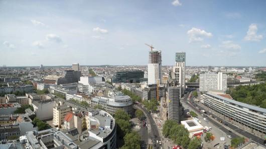 Blick über die City West