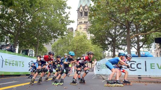8537 Läufer und Skater haben sich für den 25. City Night Run am Kudamm angemeldet.