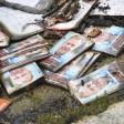 Zerstörtes Werbematerial von  CDU-Mann Wollenschlaeger