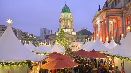 Der Weihnachtsmarkt am Gendarmenmarkt