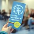 Der Flyer zum Volksentscheid Fahrrad