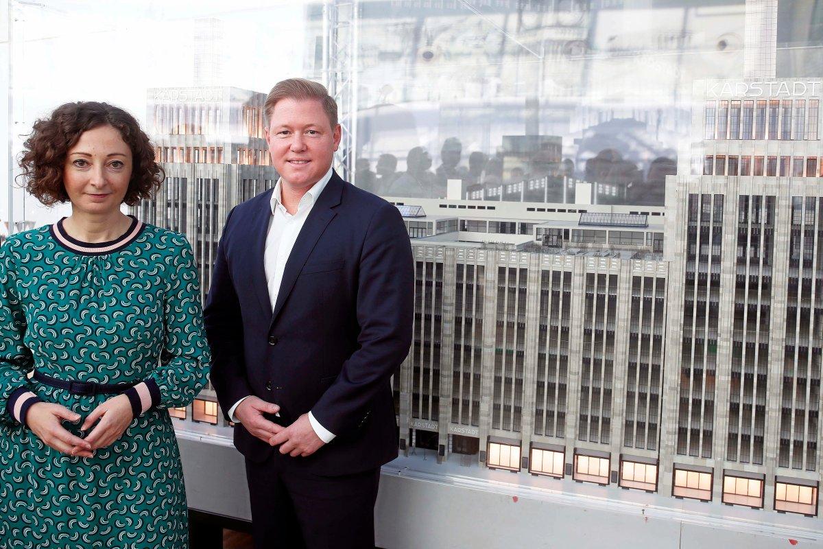 Wirtschaftssenatorin Pop bekennt sich zu Karstadt-Neubau