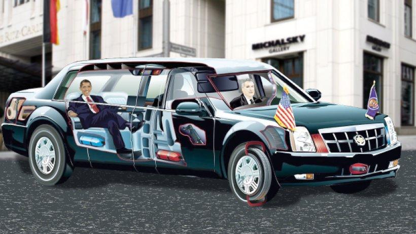 the beast mit diesem superauto f hrt obama durch berlin. Black Bedroom Furniture Sets. Home Design Ideas