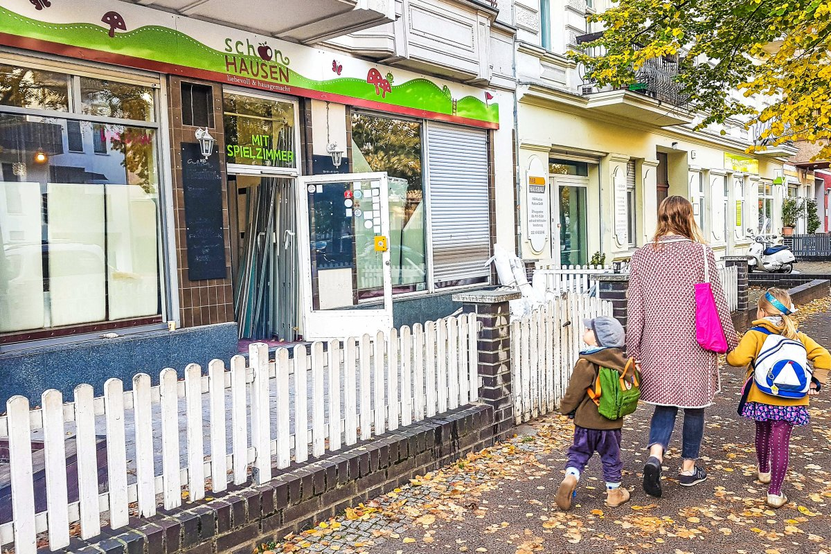 """Berlin-Pankow: Schließung des """"Kindercafé Schönhausen"""" lässt Anwohner rätseln"""