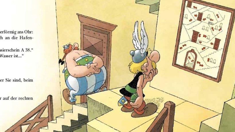 zeichentrick comics neuerscheinung von asterix. Black Bedroom Furniture Sets. Home Design Ideas