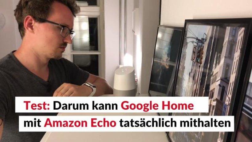 Der Neue Allesknner Im Wohnzimmer Ist Google Home Besser Als Amazons Echo
