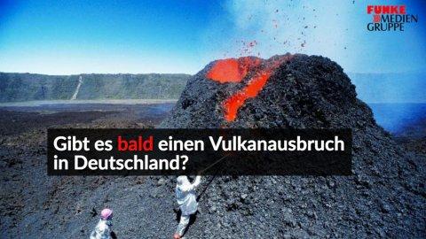 Aktiver Vulkan Deutschland
