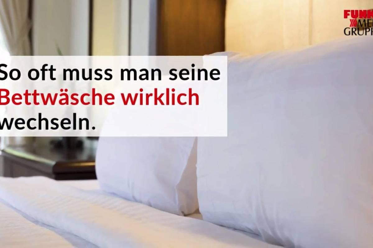So Oft Muss Man Seine Bettwäsche Wirklich Wechseln Video Panorama