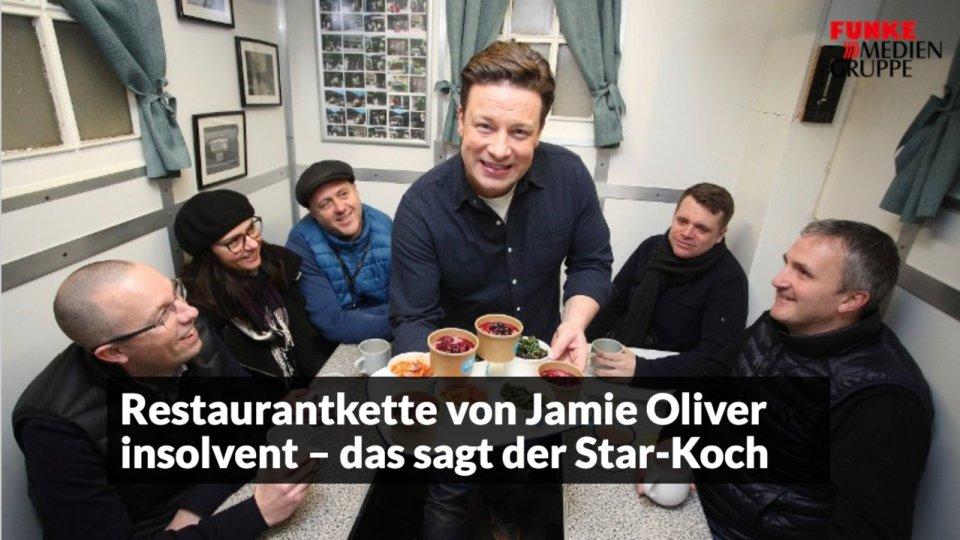 Restaurantkette von Jamie Oliver ist insolvent – das sagt der Star-Koch