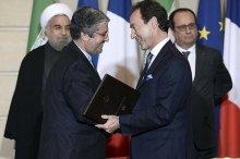 Nach Italien baut nun auch Frankreich seine Geschäftsbeziehungen zum Iran wieder aus. Bei einem Treffen des iranischen Präsidenten…