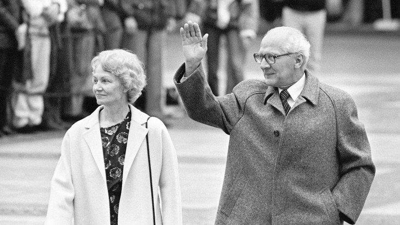 Erich Honecker Sonja Honecker