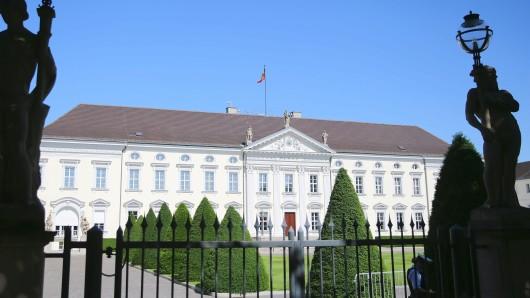 Blick auf das Schloss Bellevue in  Tiergarten