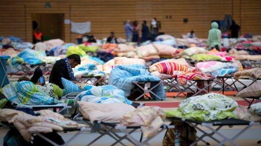 Nach Angaben der Staatsanwaltschaft Frankfurt (Oder) wurden 18.000 der aufgenommenen Flüchtlinge nur mangelhaft erfasst
