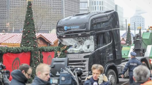 Weihnachtsmarkt am Breitscheidplatz nach dem Anschlag