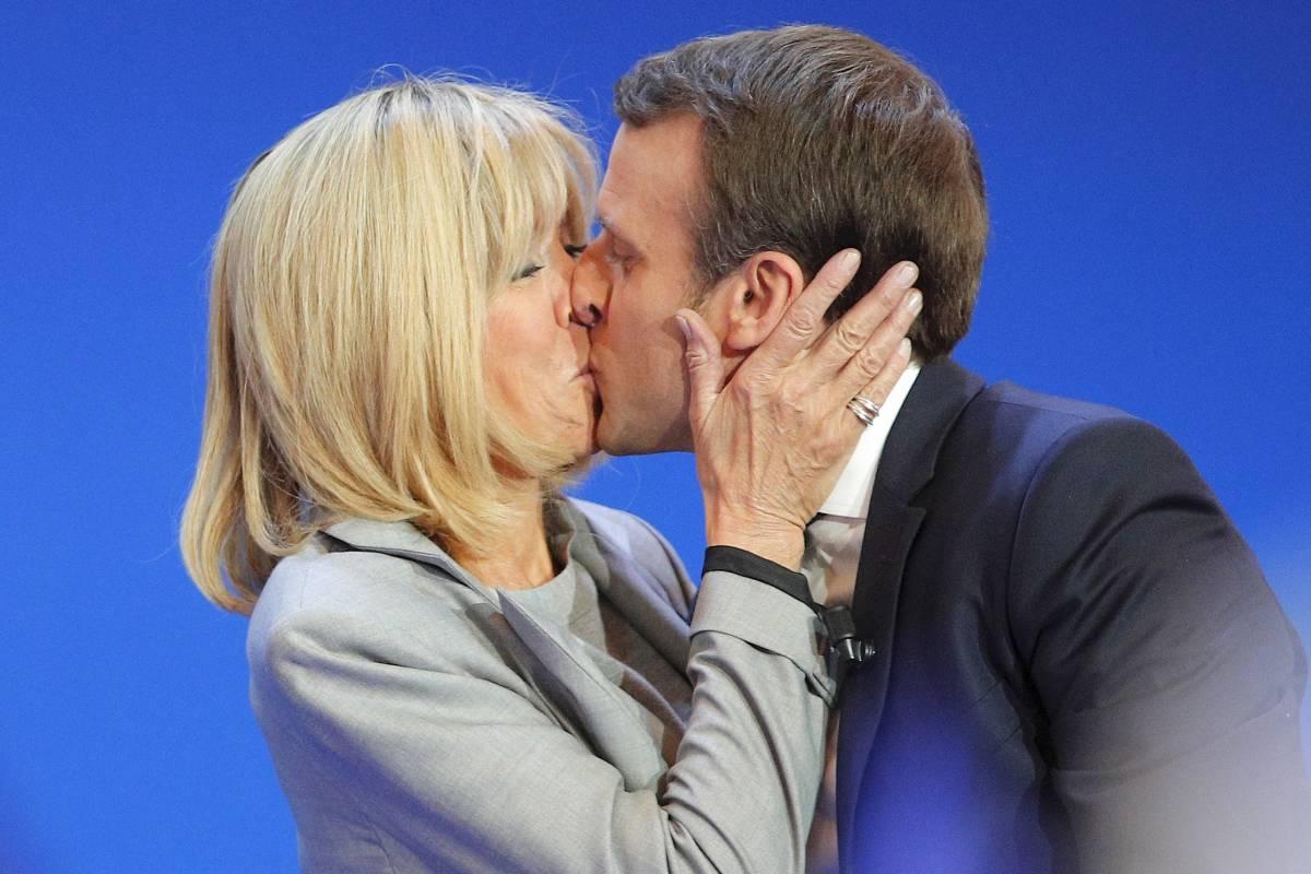 Emmanuel Macron: Seine Ehefrau Brigitte ist 25 Jahre älter - Ihre Liebe war ein Skandal