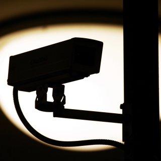 Überwachung durch eine Videokamera