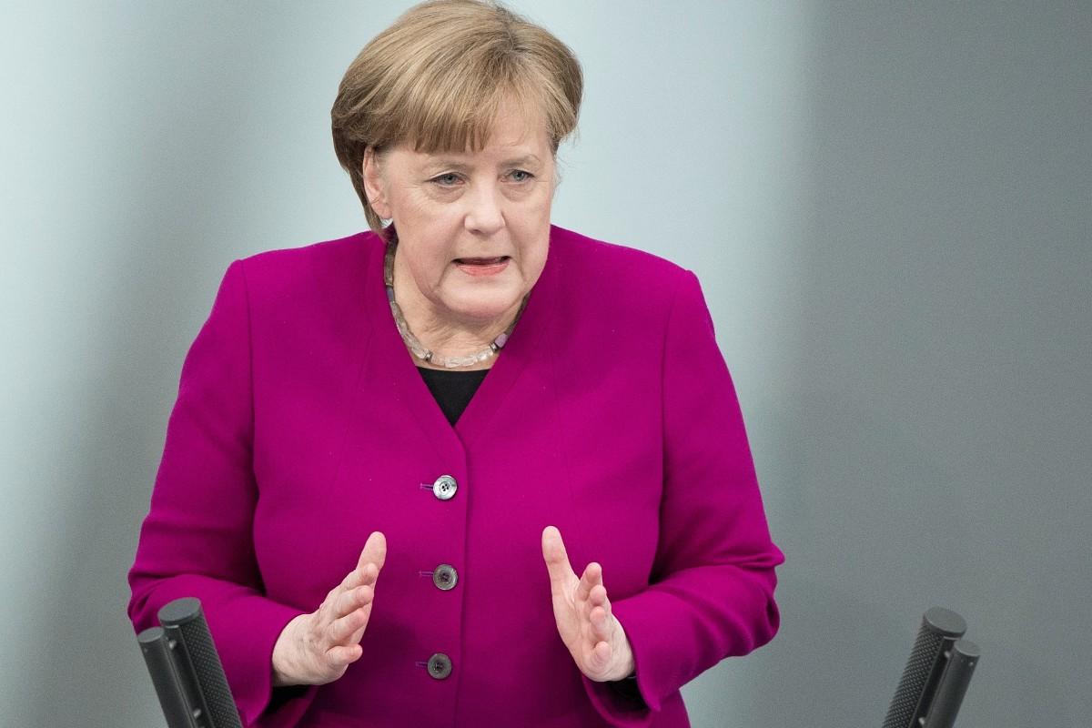 """9842b8941f Merkel stellt klar: """"Deutschland, das sind wir alle"""" - Politik - Berliner  Morgenpost"""