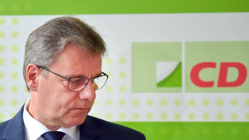 Depression: Sächsischer CDU-Fraktionschef Frank Kupfer tritt zurück