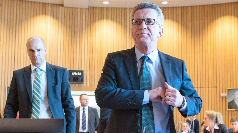 Amri-Affäre erreicht Ex-Minister Thomas de Maizière