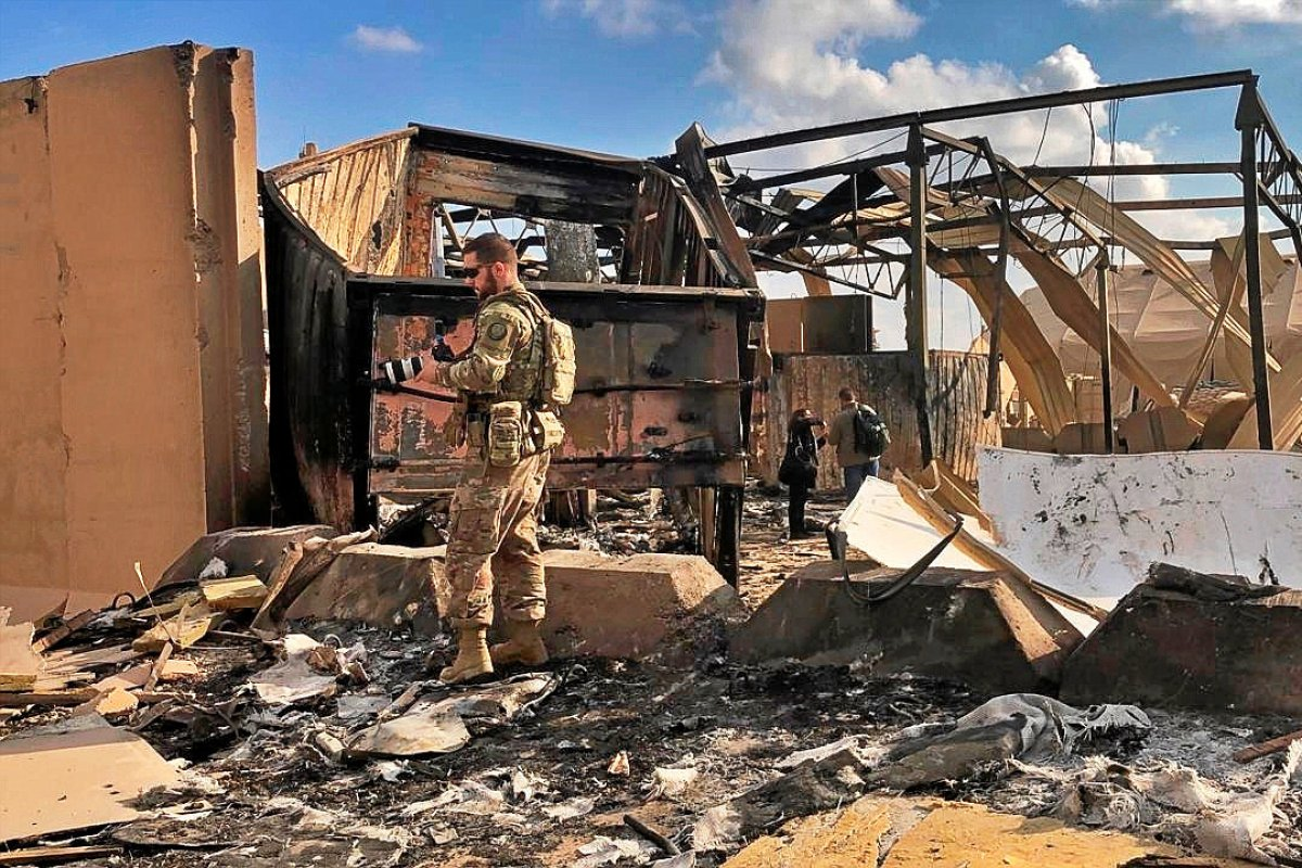 Mehrere US-Soldaten beim Raketenangriff im Irak verletzt