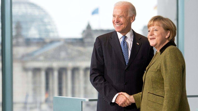 US-Wahl: Merkel gratuliert Biden und Harris – und ignoriert Trump
