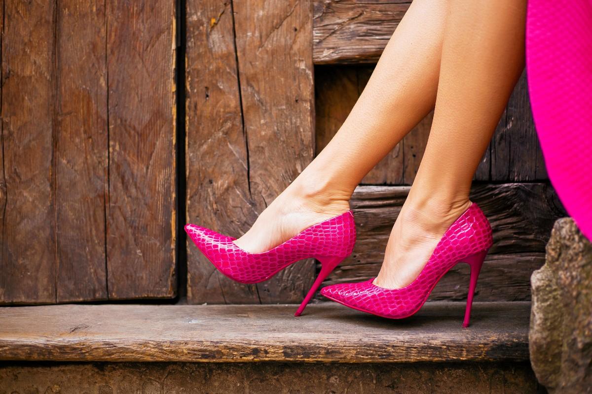 wie läuft man in high heels