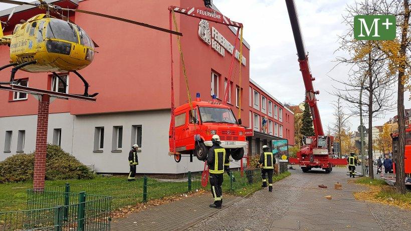 Berlin Reinickendorf Rettungswagen Ist Zur U00fcck Am