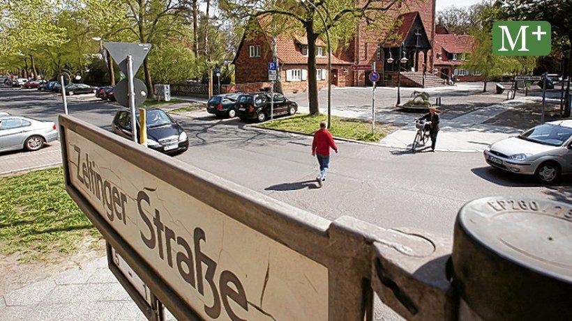 Bezirk fällt 19 Bäume an der Zeltinger Straße in Frohnau