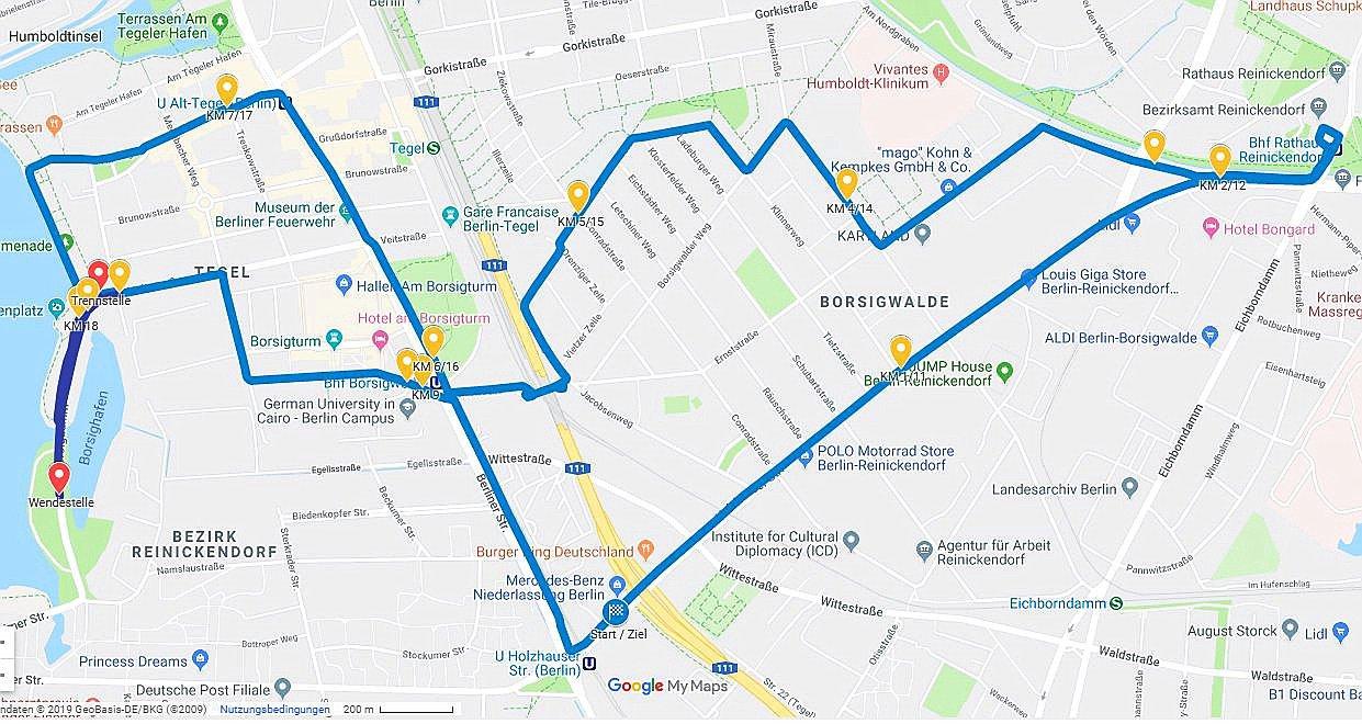 Der Mercedes-Benz-Halbmarathon findest zum 21. Mal in Tegel statt.