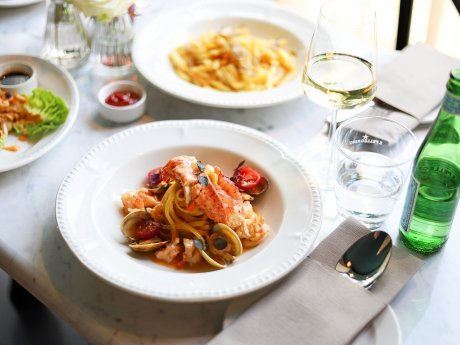 Lobster Pasta aus dem The Rose.