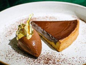 """Sonntagsrezept: Tarte au Chocolat von Dirk Gieselmann aus dem """"Pauly Saal""""."""